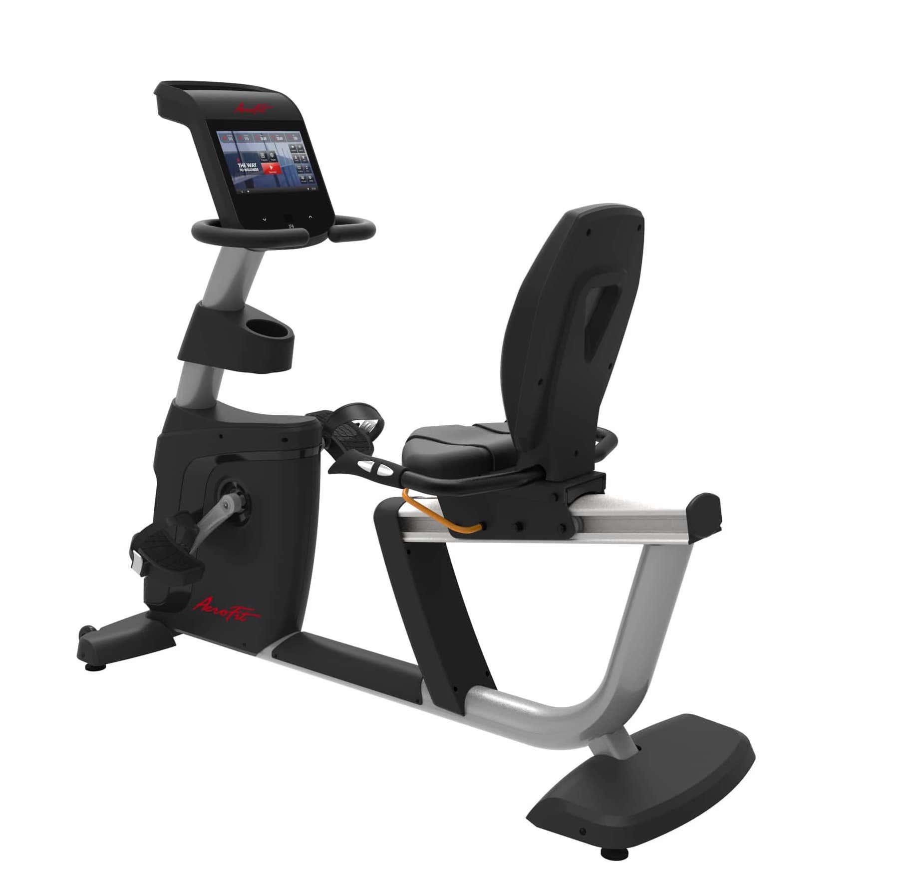 Горизонтальный велотренажер X4-R LCD Aerofit Impulse