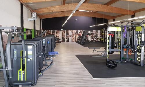 Тренажерный зал на оборудовании DHZ FITNESS