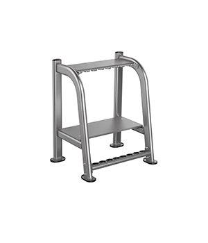 IT7032 – Вертикальная стойка для олимпийских грифов и аксессуаров