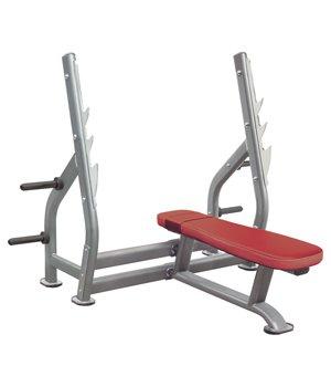IT7014 - Олимпийская горизонтальная скамья для жима лежа со стойками