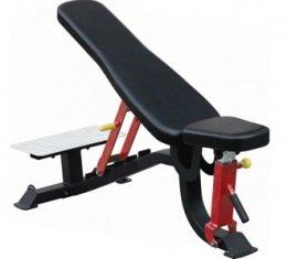 SL7012 - Усиленная многопозиционная скамья (с платформой для страхующего)