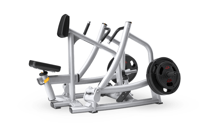 Matrix fitness горизонтальная тяга с упором в грудь