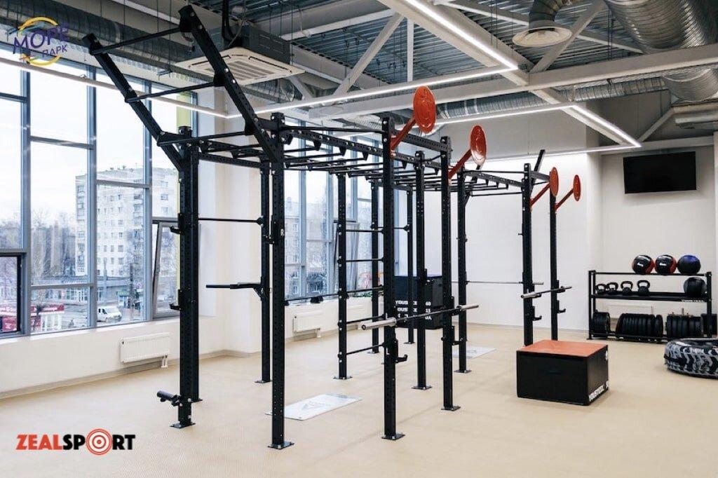 Функциональная зона фитнес клуба Море Парк