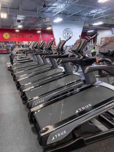 True Fitness alpine runner в фитнес-клубе